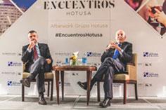 Santi Vila y Màrius Carol debaten sobre periodismo, cultura y política en Encuentros Hotusa