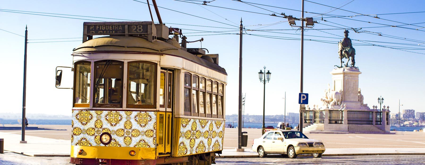 Visit Lisbon on tram
