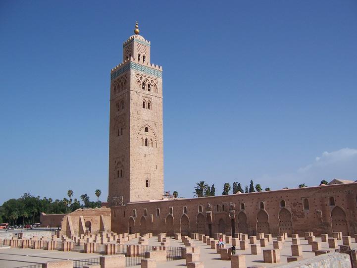 La mosquée Koutoubia