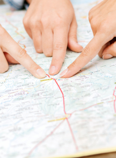 Contact and map