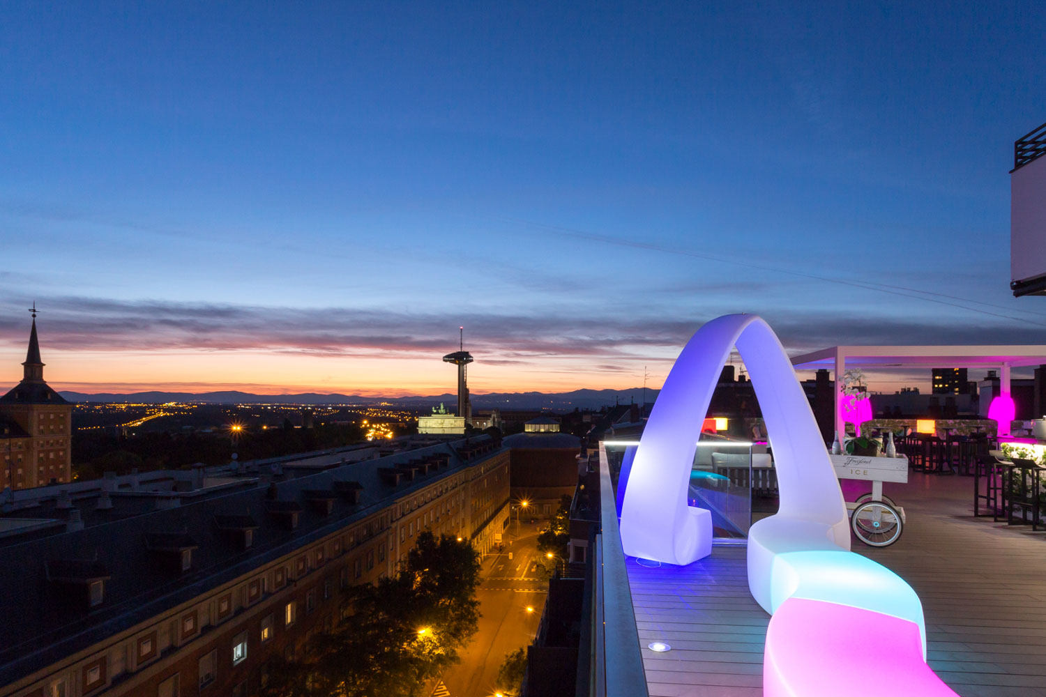 Exe Hotels Exe Moncloa Hotel In Madrid Terrace
