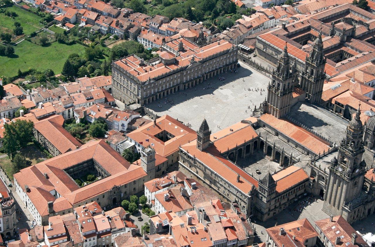 5 curiosidades de la emblemática Praza do Obradoiro de Santiago de Compostela