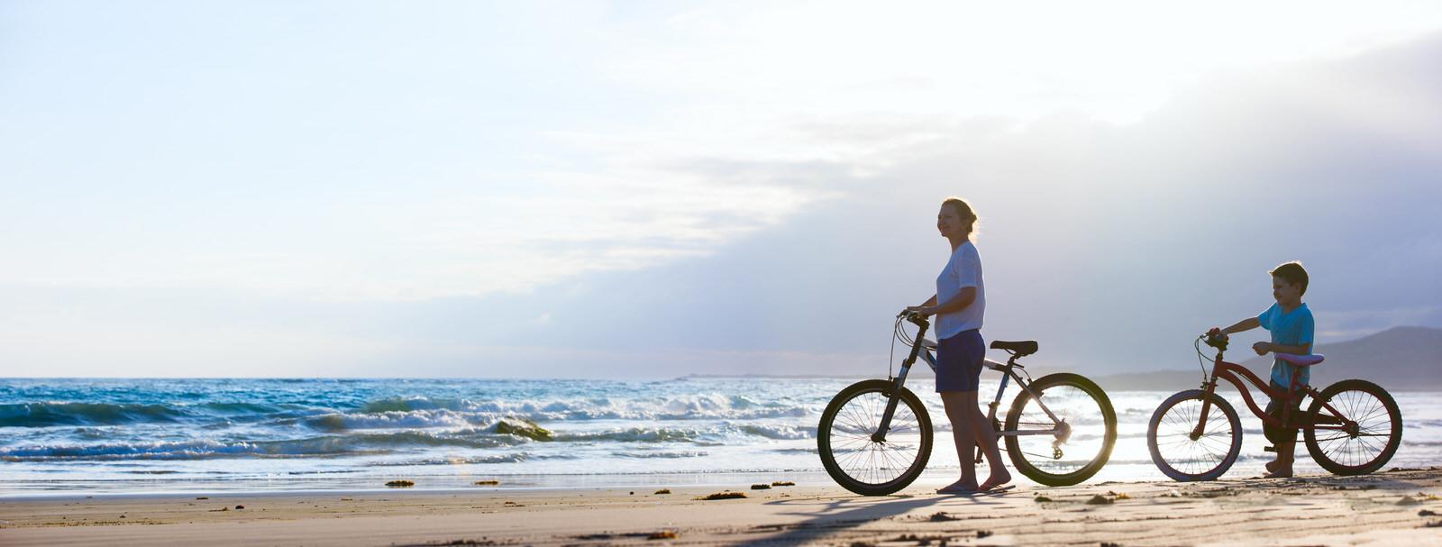 Rutas en bicicleta en el Mar Menor