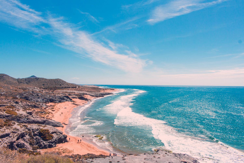 Las 5 mejores playas de la costa murciana