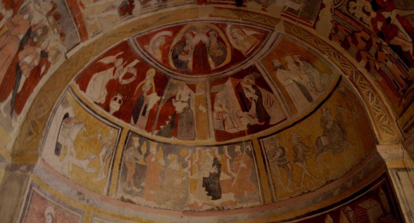 Pinturas medievales del norte de Palencia