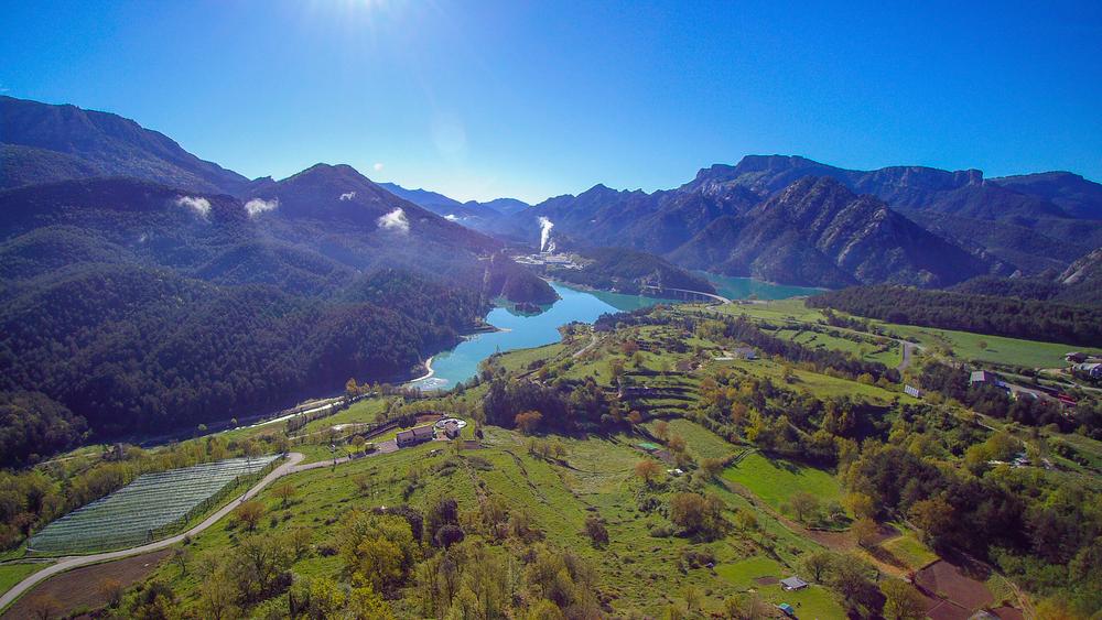 Embalse de la Llosa del Cavall: El fiordo del Solsonés