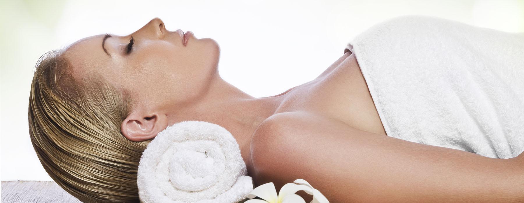Bath with simple massage