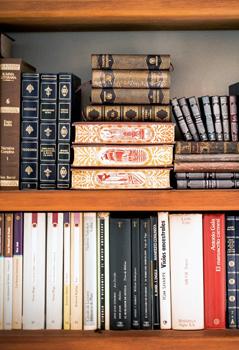 Biblioteca, sala de TV e internet