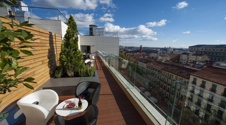 hotel madrid paseo: