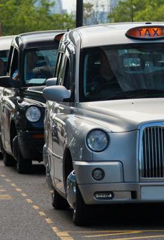 Pre-booked taxi service