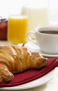 Desayuno tipo bufé