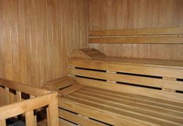 Palestra e sauna