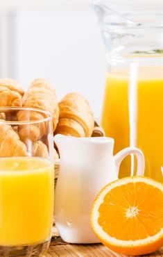 Desayuno<br/>bufé