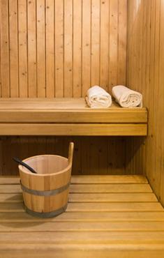 Gym <br/>et <br/> sauna