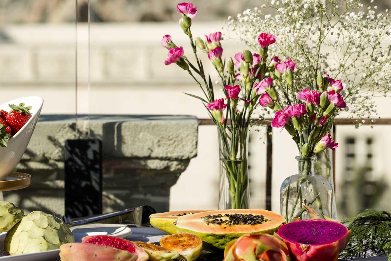Disfruta de un delicioso desayuno con vistas inigualables