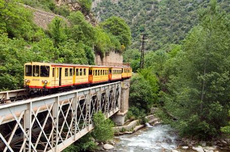 El Tren Groc, uno de los principales reclamos turísticos
