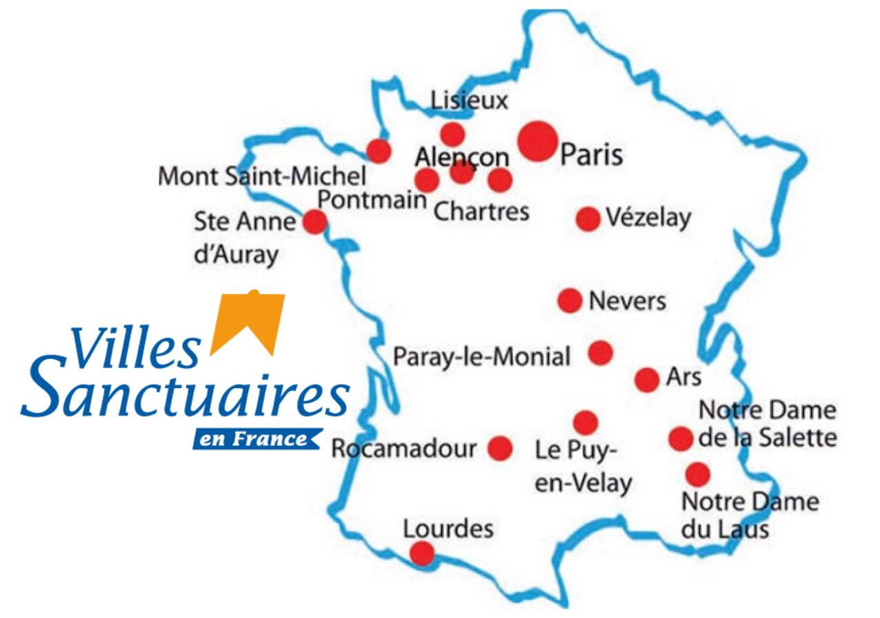 Heiligdommen van Frankrijk