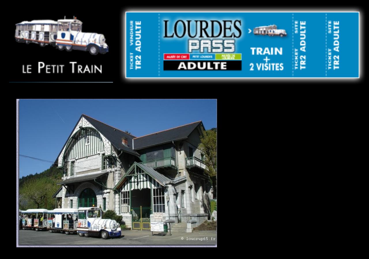 O trem turístico