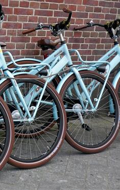 Parking à vélos et garde-skis